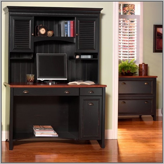 Secretary Desk With Hutch Top