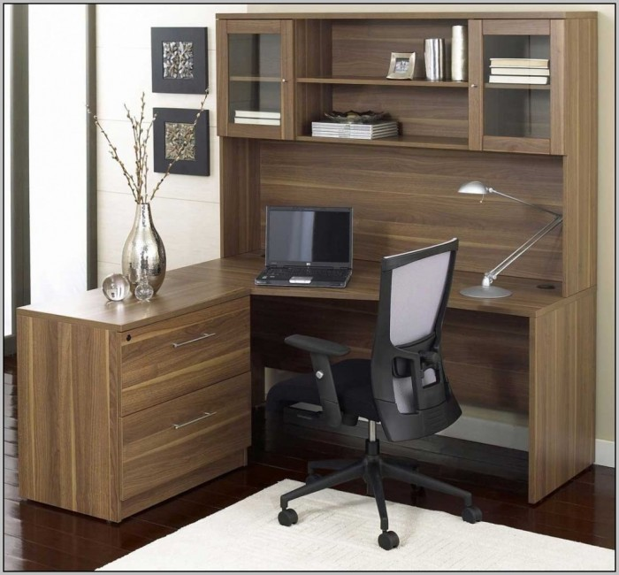 Small L Shaped Desk With Drawers