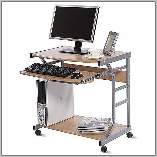 Small Laptop Desk On Wheels