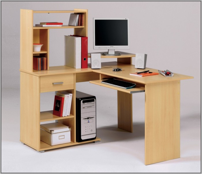 Small Office Desks With Hutch