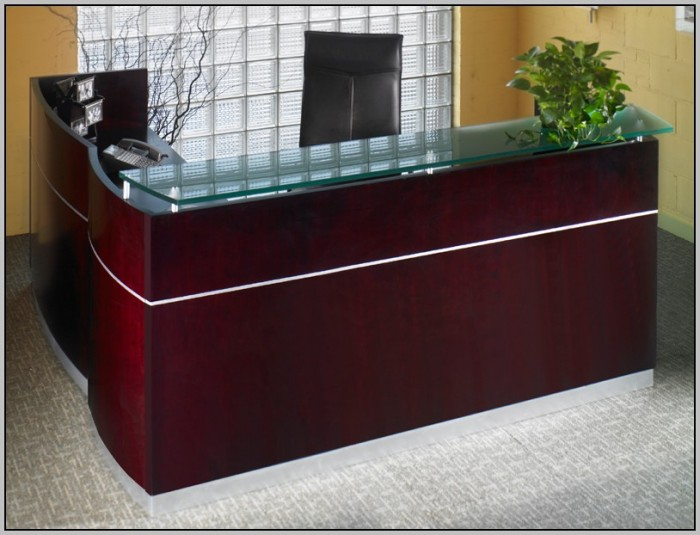 Small Reception Desk Ideas