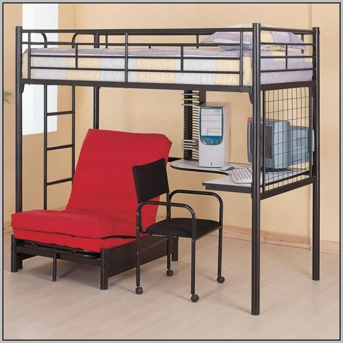 Space Saver Desk Bed