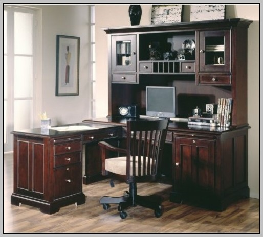 Staples Office Desk With Hutch