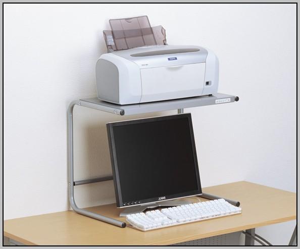 Under Desk Printer Stand Ikea Desk Home Design Ideas