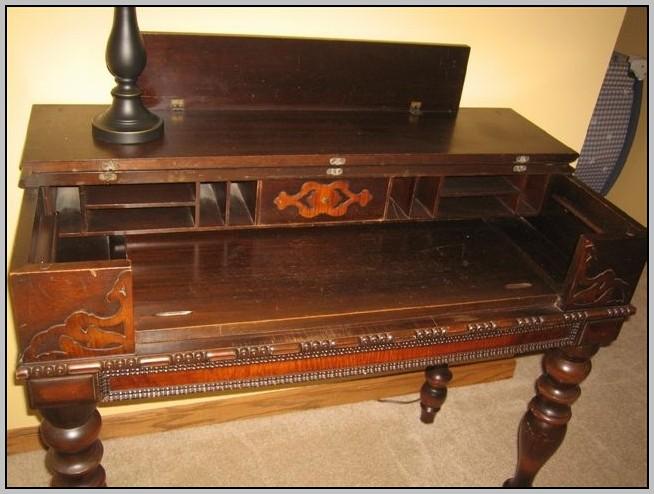 Vintage Writing Desk Value