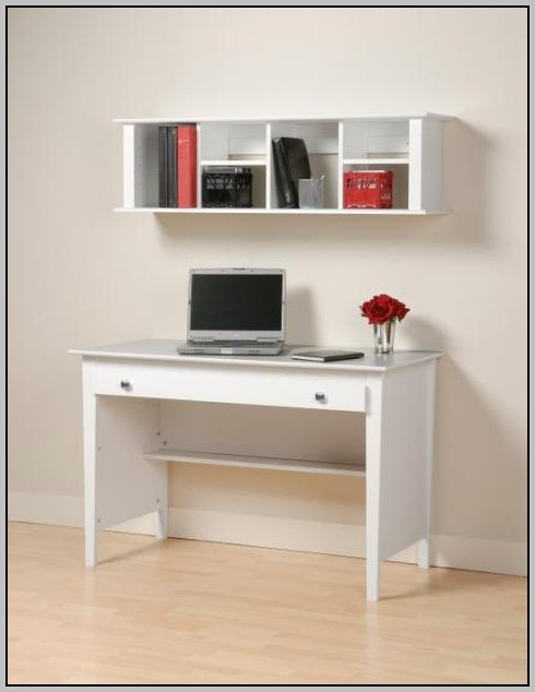 Wall Mount Desk With Storage