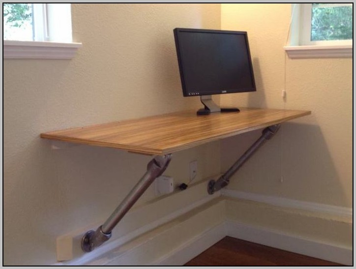 Wall Mounted Computer Desk Diy Download Page Home Design
