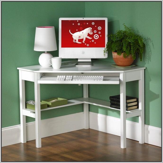 White Corner Desk Target