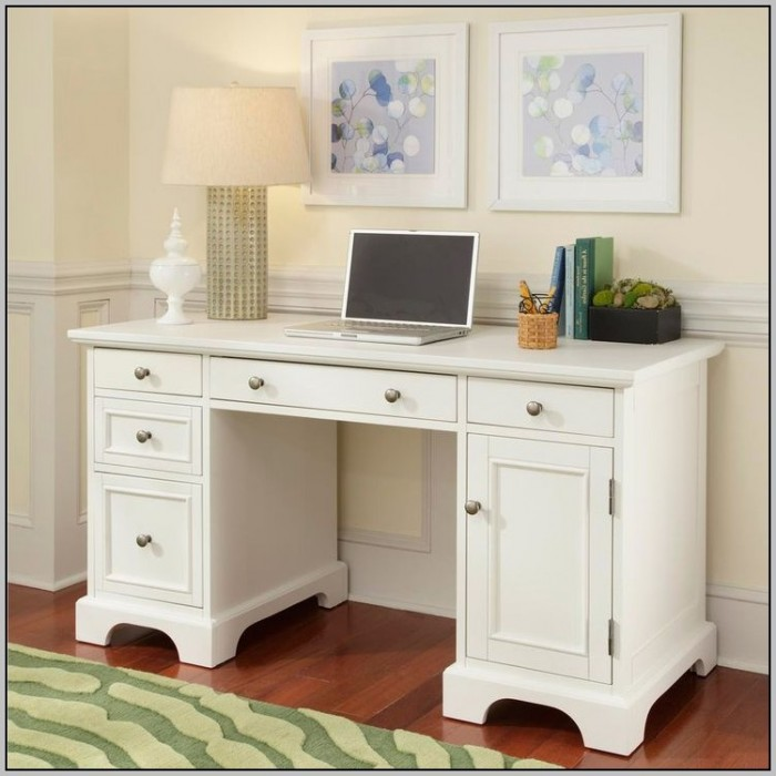 White Desk Hutch Walmart