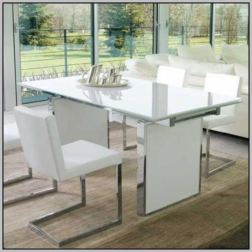 White Lacquer Desk Canada
