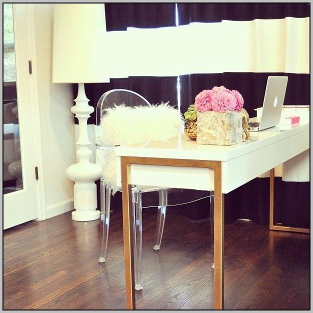 White Lacquer Desk Ikea