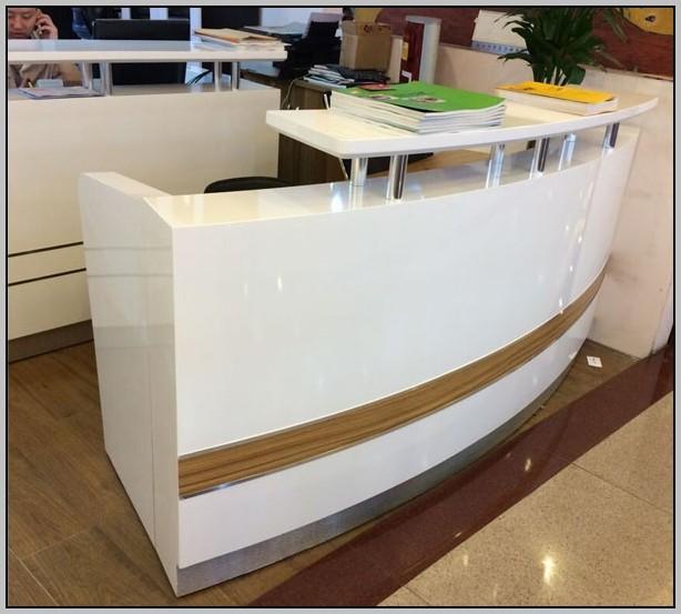 White Reception Desk Furniture