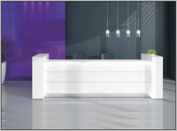 White Reception Desk Ikea
