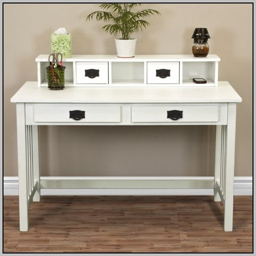 White Corner Secretary Desk Desk Home Design Ideas