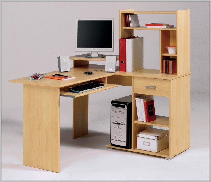 Wood Computer Desk Designs