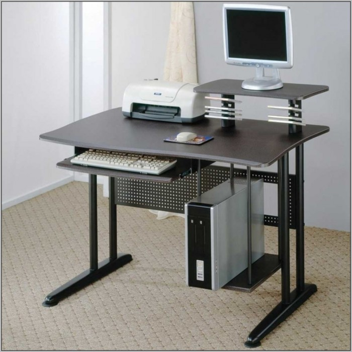 Wood Computer Desks For Small Spaces