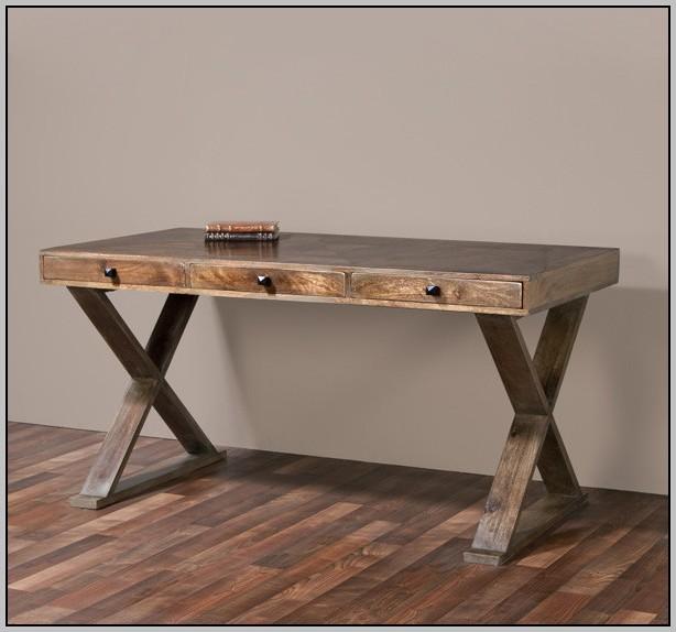 Wood Writing Desk Honey