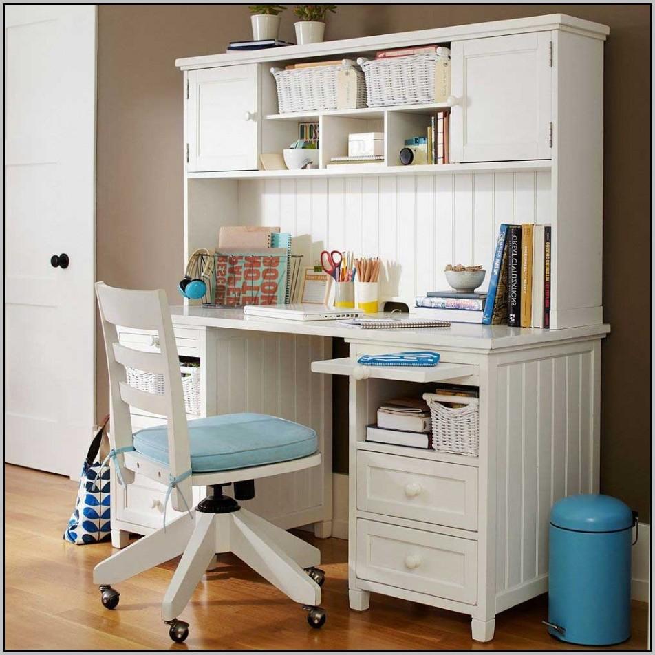 Wooden Desk Chair White