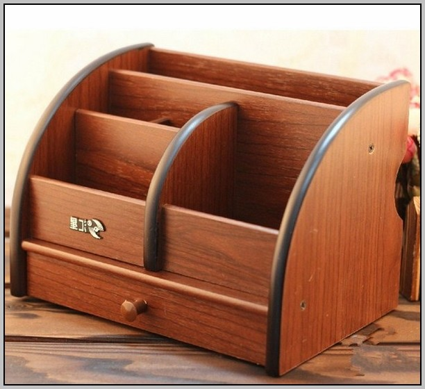 Wooden Desk Organizer Uk