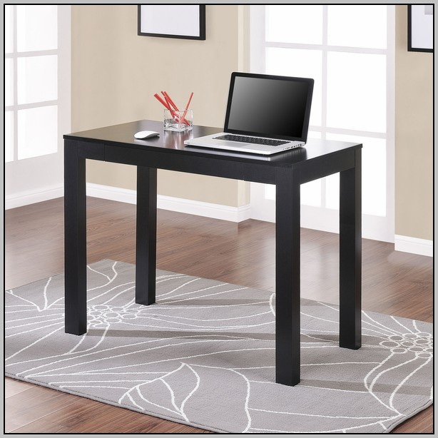 Altra Parsons Desk With Drawer Espresso