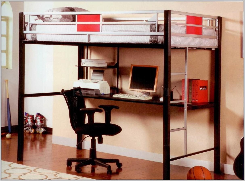 Bunk Beds With Desk Underneath Uk Desk Home Design