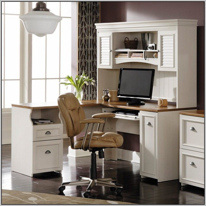 Bush L Shaped Desk With Hutch Bush Furniture Somerset 71