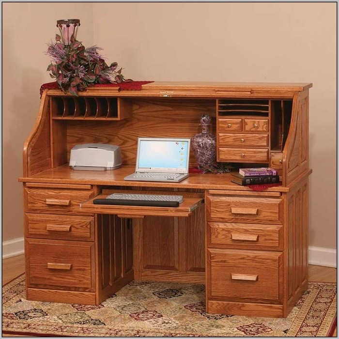 Computer Cupboard Desk
