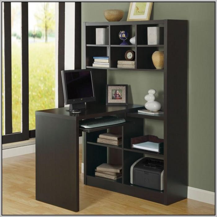 Computer Desk Corner Unit With Hutch