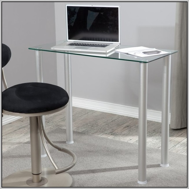 White Glass Top Writing Desk  Desk  Home Design Ideas. Bunk Bed With Closet. Modern Medicine Cabinets. Bedroom Makeup Vanity With Lights. C Tech Sinks