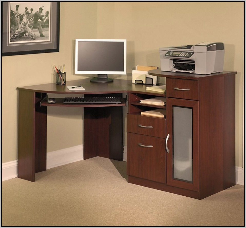 Corner Computer Desk With Storage Download Page Home