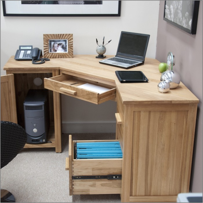Corner Desk With Storage Uk
