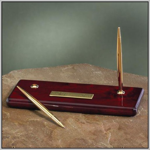 Desk Pen Holder Set