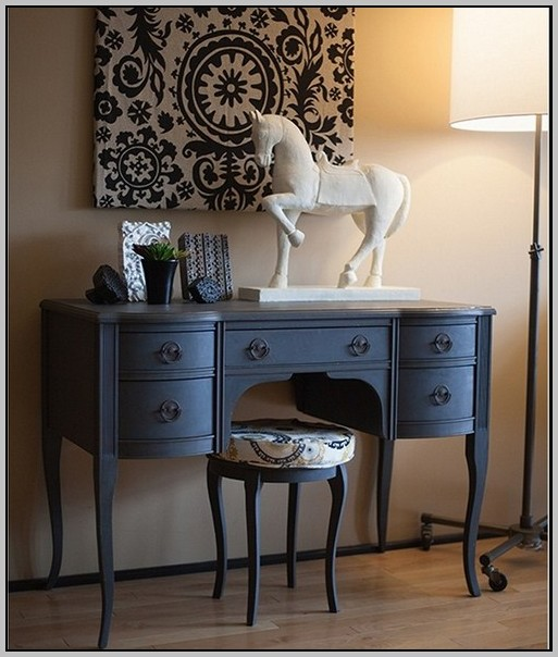 Diy Painted Secretary Desk