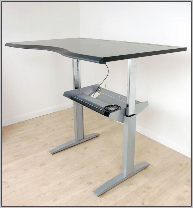Ikea Adjustable Desk Electric - Desk : Home Design Ideas ...