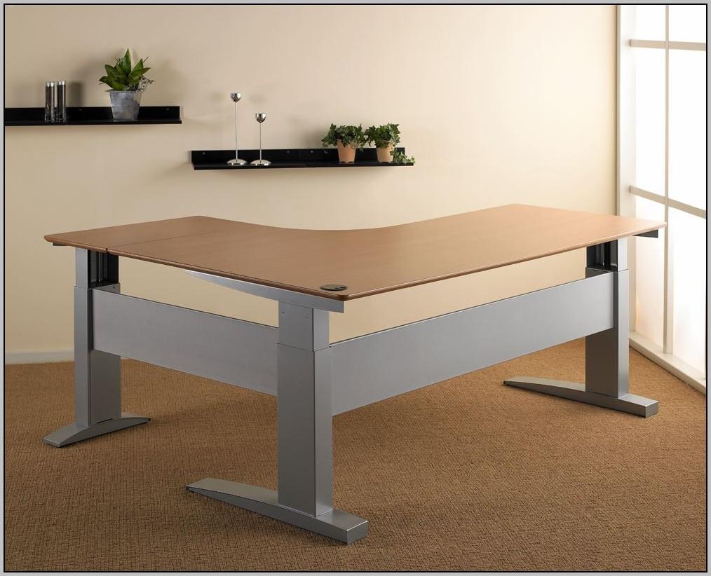 Electric height adjustable desk uk desk home design for Motorized adjustable height desk