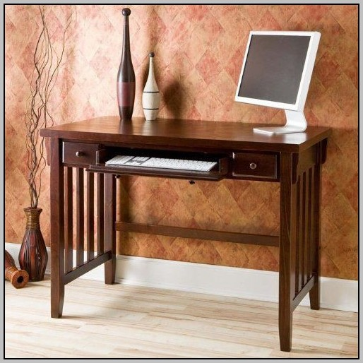 Corner Computer Desk Espresso Finish Desk Home Design