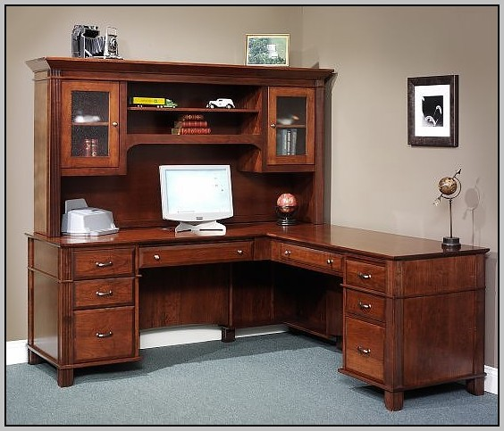 Kimball L Shaped Executive Desk Desk Home Design Ideas