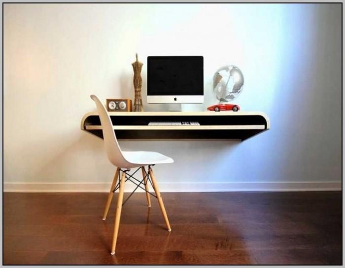 how to build a floating corner desk