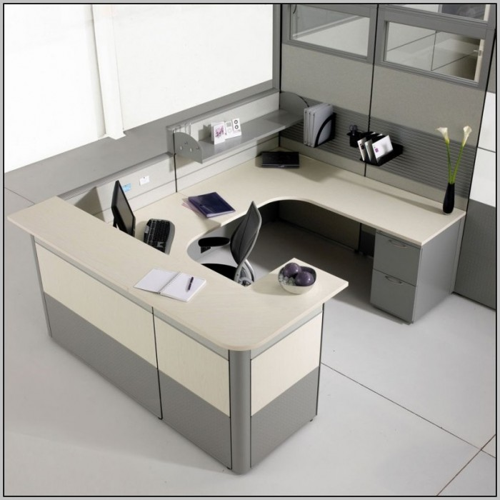 Frosted Glass Desk Partition