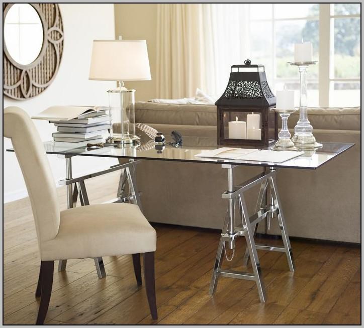 Ikea glass top desk love desk home design ideas for Ikea glass work desk