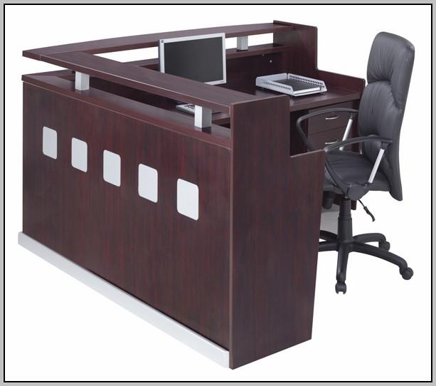 Used L Shaped Reception Desk Desk Home Design Ideas
