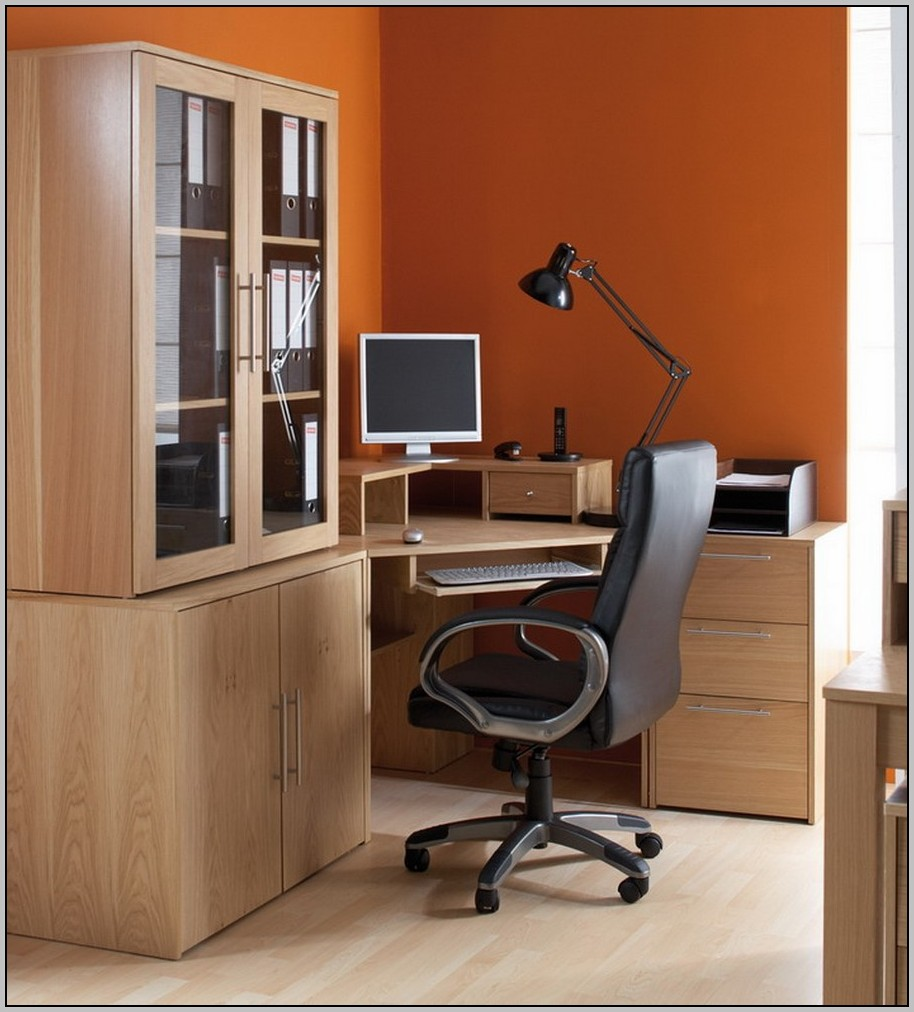 Large corner desk with storage desk home design ideas for Huge corner desk