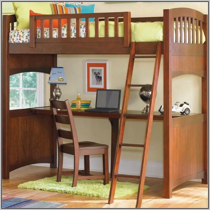Loft Bunk Beds With Desk Underneath