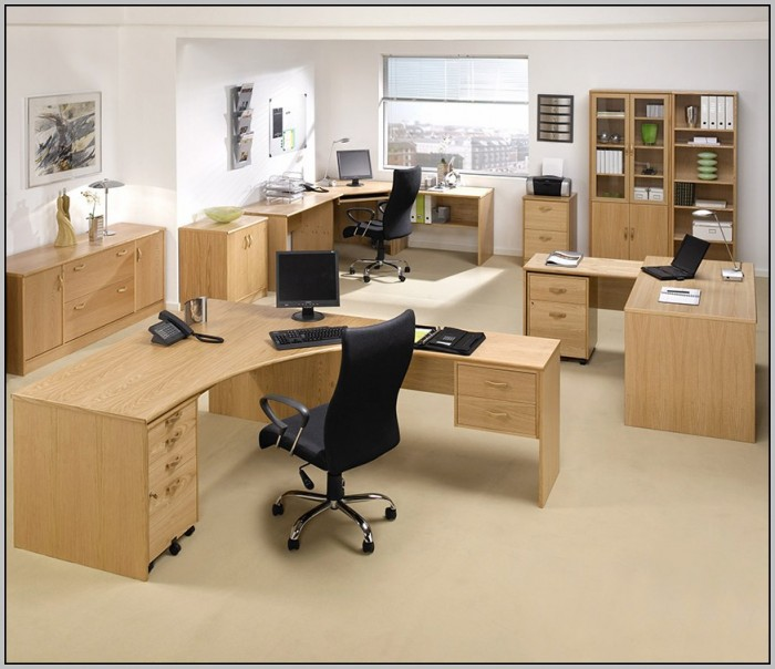 Modular home office furniture systems desk home design for Home office desk systems