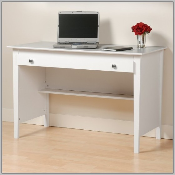 Narrow Computer Desk With Hutch Desk Home Design Ideas
