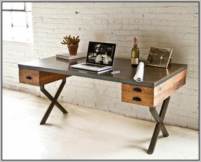 Reclaimed Wood Desks Home Office