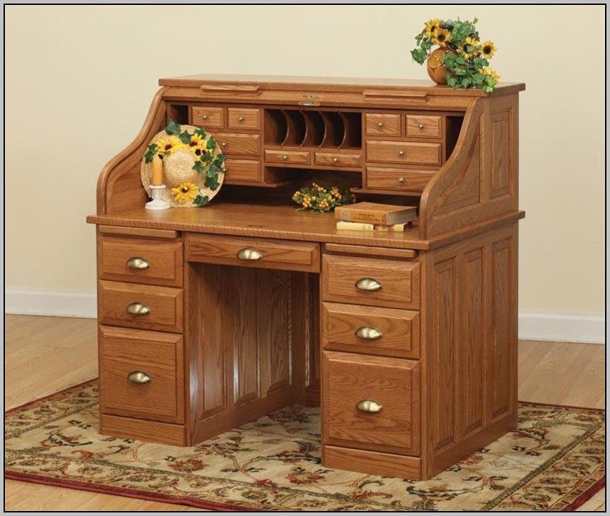 Riverside Furniture Roll Top Desk Oak Desk Home Design