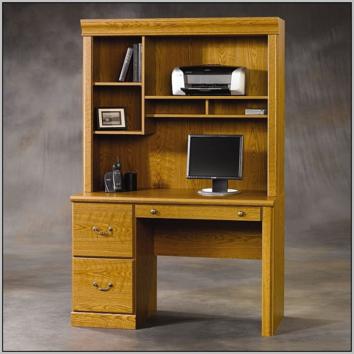 Sauder office port executive desk in dark alder desk home design ideas llq0b6enkd74881 - Sauder computer desk assembly instructions ...