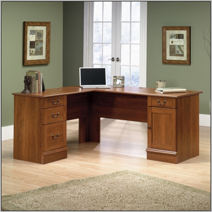 Sauder L Shaped Desk Manual Desk Home Design Ideas