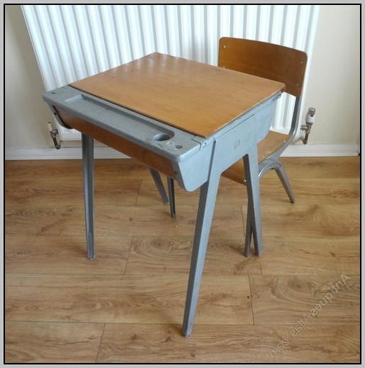 Old school desks ebay desk home design ideas for School furniture used